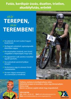 Triatlon edző
